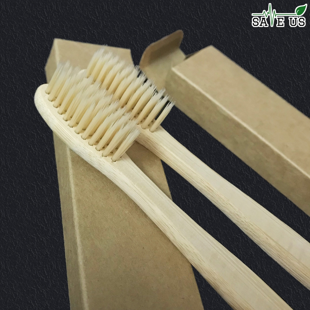 Bàn chải đánh răng tre