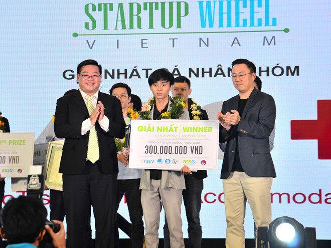 Tuấn xuất sắc nhận được giải nhất của cuộc thi.