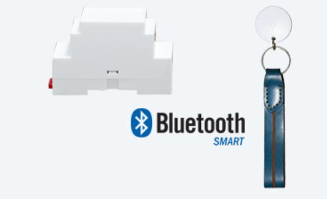 Airswing (bên trái) và Airfob (bên phải) được kết nối với nhau bởi bluetooth. Ảnh: Airiot.