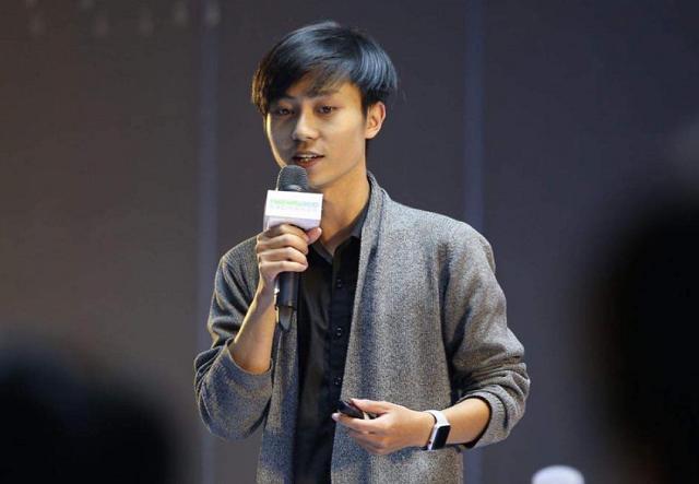 Trần Nguyễn Duy Tuấn, founder của Airiot. Ảnh: FBNV